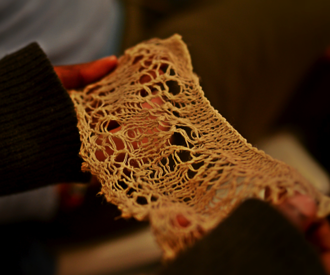 Seeds of Fashion and Cordwainer's Grow, Slow Textiles Group event.