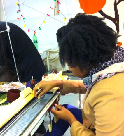 Knit Workshop at Textiles Hub London